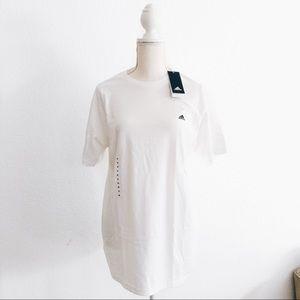 NWT Adidas White The Go To Logo TShirt